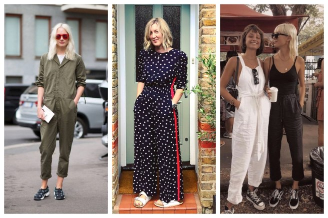 dc1fc0ca78 If you ve been on Instagram this week you might have noticed the M S polka  dot jumpsuit. I took a running jump onto that bandwagon and bought one as  soon as ...