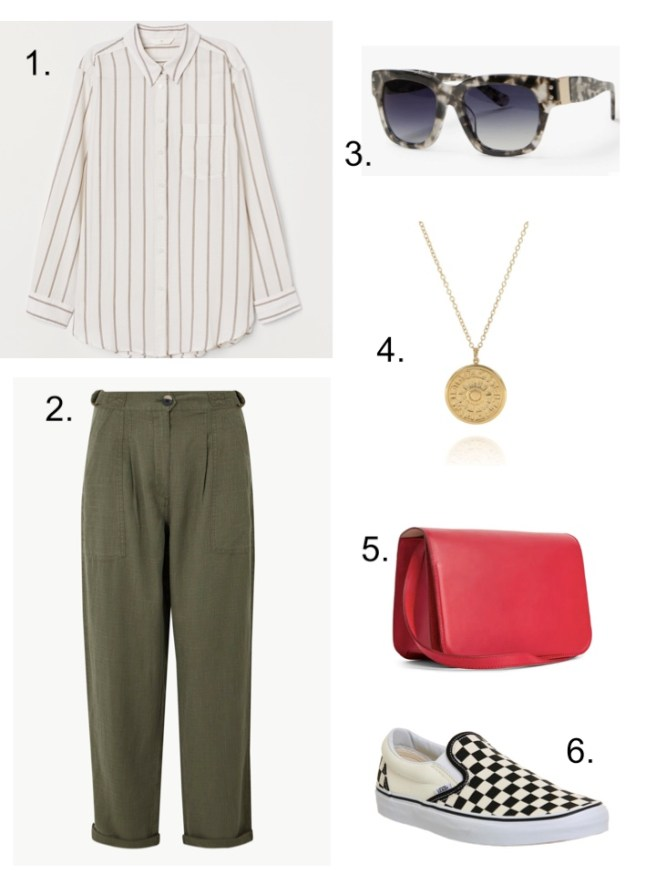 summer holiday essentials khaki trousers