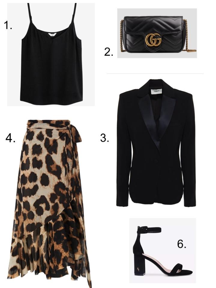 best dressed guest leopard print