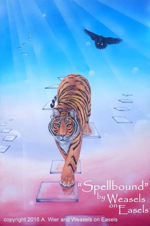 "Spellbound Acrylics on Canvas 24"" x 36"" ; Jan 2016 Prints Available"