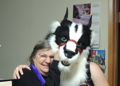 Ashaeda Badger Dragon- Fursuit Head