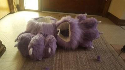 Lavender Feetpaws