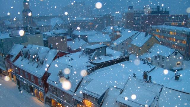 viajar en navidad para noruega