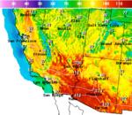 National Digital Forecast Database Maximum Temperature Forecast