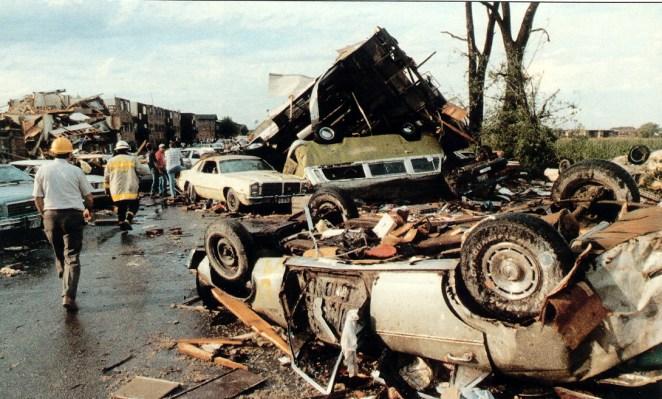 Plainfield tornado Damage Photo #1