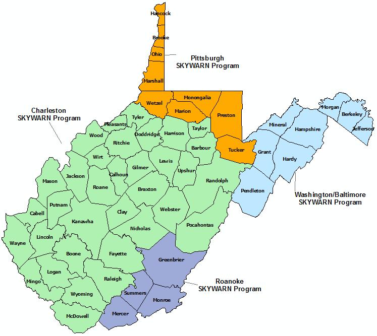 Map Tornadoes Virginia