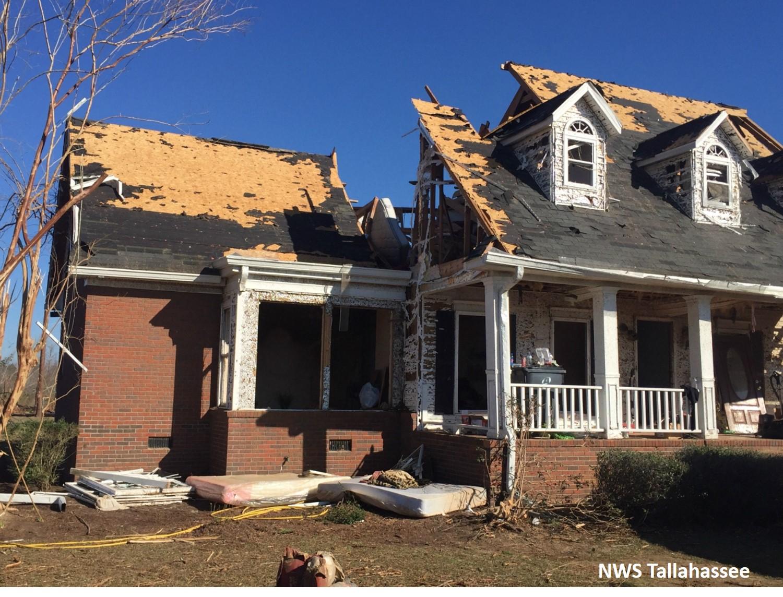 Deadly Tornado Outbreak January 22 2017