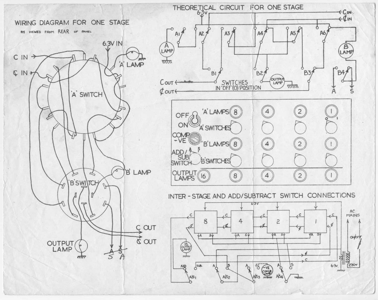 3 Bit Adder Schematic