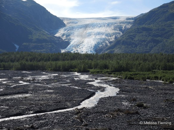 """""""Exit Glacier, Alaska"""" from the series """"American Glaciers"""" by Melissa Fleming. Image credit: Melissa Fleming."""