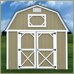 Weatherking Painted Lofted Barn