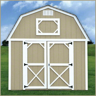 Weatherking Private Storage Painted Lofted Barn