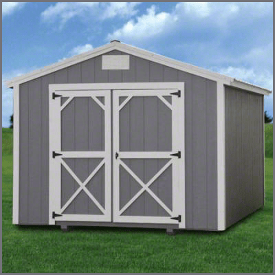 Weatherking Private Storage Painted Utility