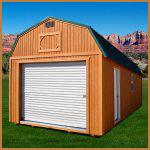 DuraTemp Lofted Garage