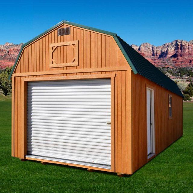 Weatherking Lofted Garage