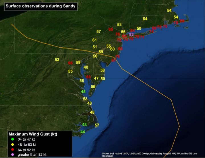 SUPERSTORM SANDY RECAP, DRY & MILD MIDWEEK - Weather Long Island