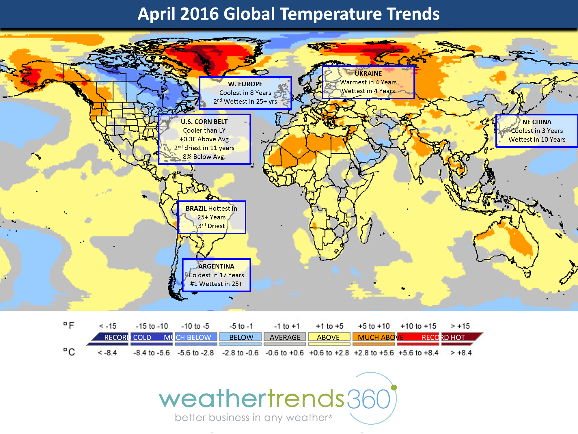 April Global Weather Summary