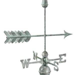 Arrow Pure Handcrafted Copper Weathervane -0