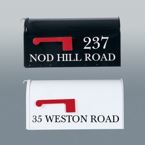 Good Directions Lettering for Mailbox-0