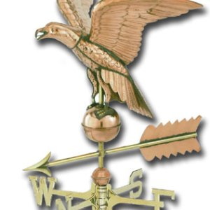 American Eagle Copper Weathervane-0