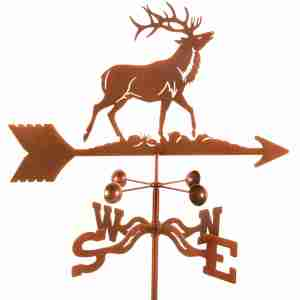 Elk Weathervane-0
