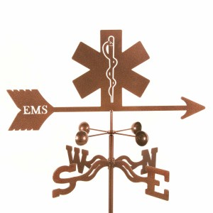 EMS (Emergency Medical Service) Weathervane-0