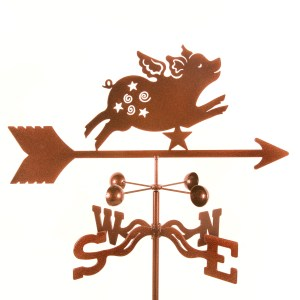 Flying Pig Weathervane-0