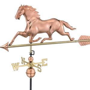 Good Directions Horse Weathervane 310L With Arrow-0