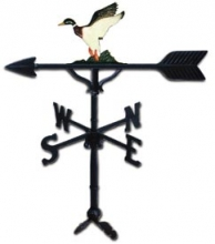 "32"" Duck Aluminum Weather Vane -0"