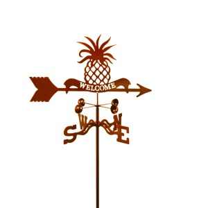 Pineapple Welcome Weathervane -0