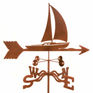 Sailboat Weathervane-0