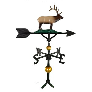 "32"" Elk Aluminum Weather Vane-0"