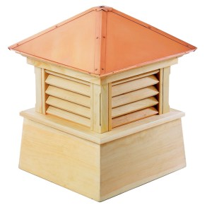 "22"" sq. x 27"" Manchester Wood Cupola-0"
