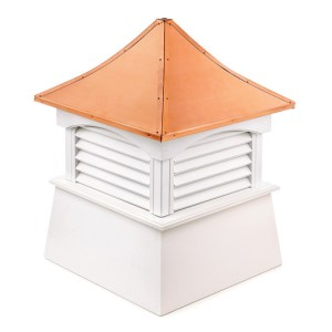 "22"" sq. x 29"" high Coventry Vinyl Cupola -0"