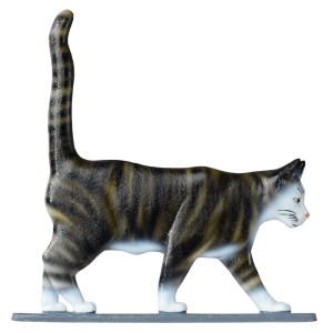 "30"" Cat Standing Weathervane-0"
