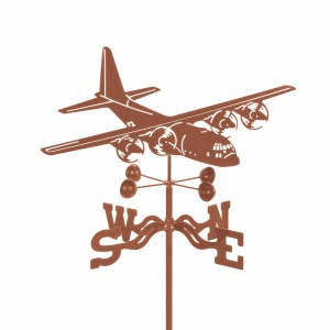 C 130 Airplane Weathervane-0