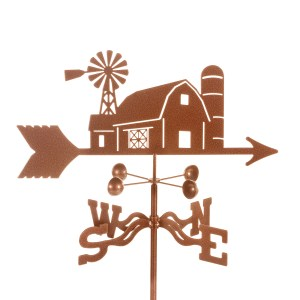 Farm Scene Farming Weathervane-0