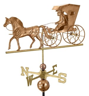 Country Doctor Handcrafted Pure Copper Weathervane -0