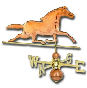 Horse Copper Weathervane-0