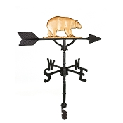"32"" Bear Aluminum Weather Vane-1089"
