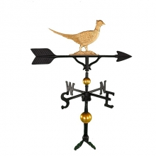 "Old Barn Rustic Co. 32"" Deluxe Pheasant Aluminum Weathervane-0"