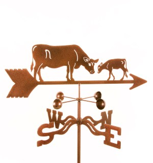 Cow and Calf Weathervane-0