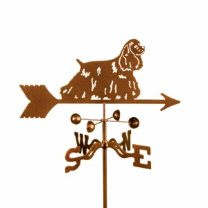 Cocker Spaniel Dog Weathervane -0