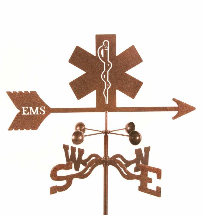 EMS (Emergency Medical Service) Weathervane-0