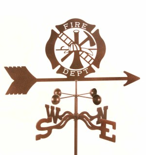 Fire Department Weathervane-0