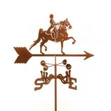 English Rider Horse Weathervane-0