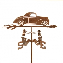 Willys Car Weathervane-0