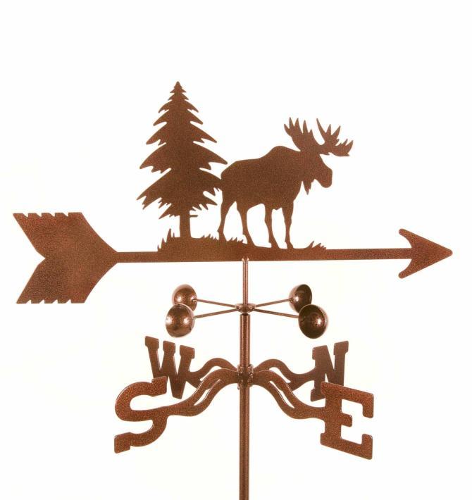 Moose Weathervane-0