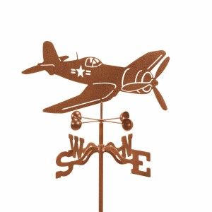 Corsair Airplane Weathervane -0