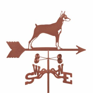 Doberman Dog Weathervane -0