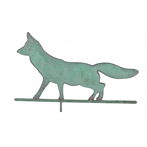 Walking Fox Copper Weathervane-3944